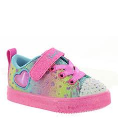 Skechers TT Shuffle Lites-Lil Heartbursts (Girls' Infant-Toddler)