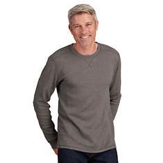 Men's Thermal Long-Sleeved Crew Shirt