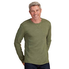 Men's Thermal Long-Sleeved Crew Shirt