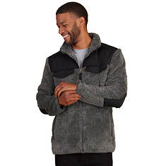 Men's High-Pile Cozy Fleece Zip-Front Jacket