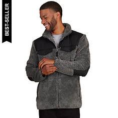 Men's High-Pile Cozy Fleece Zip-Front Jacket