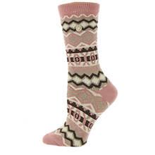 Birkenstock Women's Cotton Jacquard Crew Socks