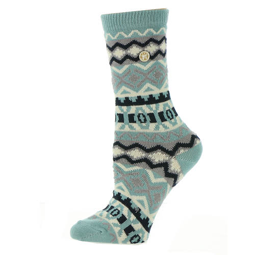 Birkenstock Women's Cotton Jacquard Crew Socks