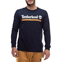 Timberland Men's LS Est. 1973 Tee