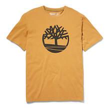 Timberland Men's SS Kennebec River Tree Logo Tee