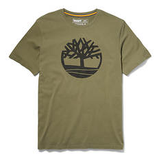 Timberland Men's SS Kennebec River Tree Logo Tee