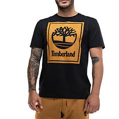 Timberland Men's SS Stack Logo Tee