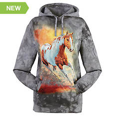 Unisex Animal Print Fleece Hoodie