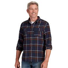Men's Long-Sleeved Flannel Shirt