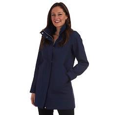 Fleet Street Women's Textured Softshell A-Line Jacket