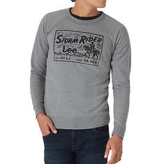 Lee Jeans Men's Storm Rider Crew Neck Fleece