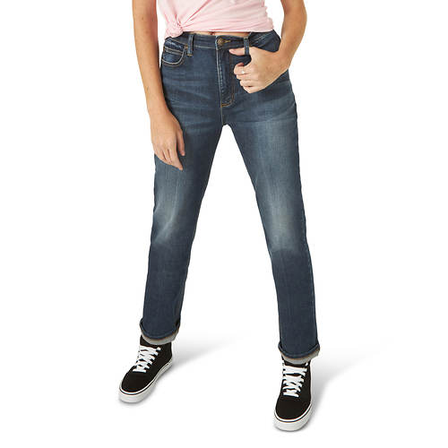 Lee Jeans Women's High Rise Straight Ankle