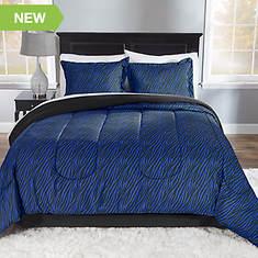 Zebra 3-Piece Comforter Set