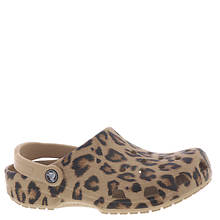 Crocs™ Classic Animal Print Clog (Women's)