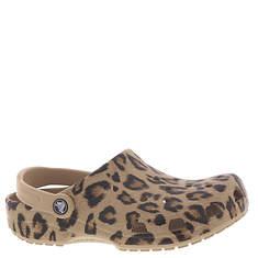 Crocs™ Classic Animal Print Clog (Women's)