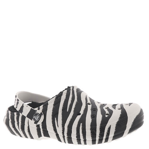 Crocs™ Classic Lined Animal Print Clog (Unisex)