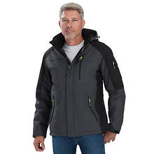 Free Country Men's Colorblock Mid-Weight Jacket