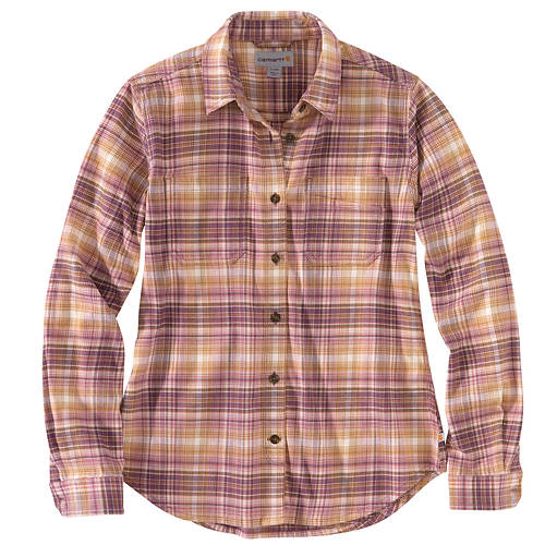 Carhartt-Rugged Flex Relaxed Fit Flannel Shirt