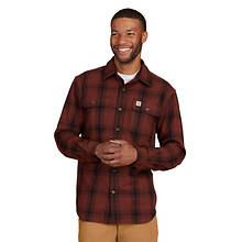 Carhartt Men's Original Fit Flannel Long-Sleeve Shirt