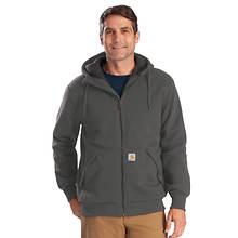 Carhartt Men's Rockland Sherpa-Lined Full-Zip Hooded Sweatshirt
