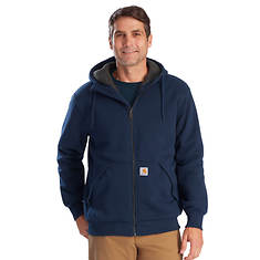 Carhartt Men's Rockland Sherpa-Lined Full-Zip Hooded Sweatshirt