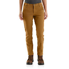 Carhartt Women's Rugged Flex Straight Fit Twill Double-Front Pant