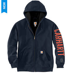 Carhartt Men's Rain Defender Lined Logo Sweatshirt