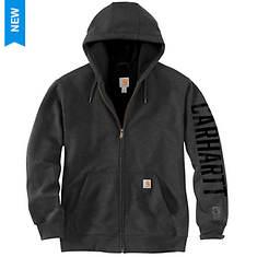 Carhartt Men's Rain Defender Lined Logo Sweatshirt
