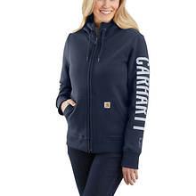 Carhartt Women's Rain Defender Lined Logo Sweatshirt