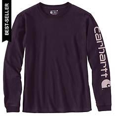Carhartt Women's Workwear Sleeve Logo LS T-Shirt