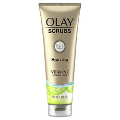 Olay Hydrating Face Scrub with Vitamin C + Caviar Lime Essence