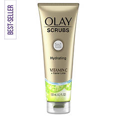 Olay Hydrating Face Scrub with Vitamin C + Caviar Lime Essence