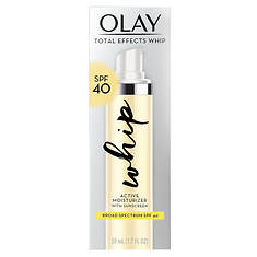 Olay Total Effects Whip  Face Moisturizer SPF 40