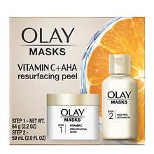 Olay Mask Resurfacing Peel with Vitamin C + AHA