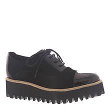 ALL BLACK Pat Toe Tread Ox (Women's)