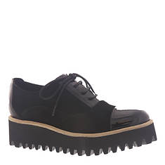 ALL BLACK Pat Toe Tread Ox (Women's)