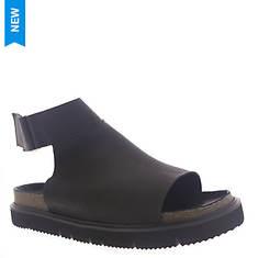 ALL BLACK Sleek Combat Sandal (Women's)