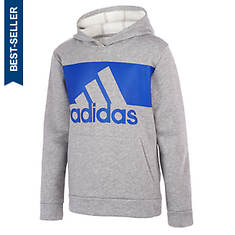 adidas Boy's Cotton Event Hooded Pullover