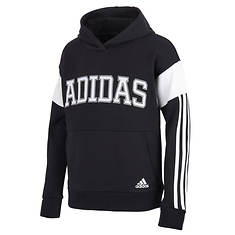 adidas Boy's Core Colorblock Hooded Pullover