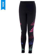 adidas Girls' Stack Graphic Tight