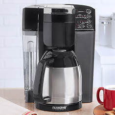 BruHub Coffee Maker with Stainless Steel Carafe