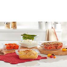 Pyrex Littles 5-Piece Glass Baking Set