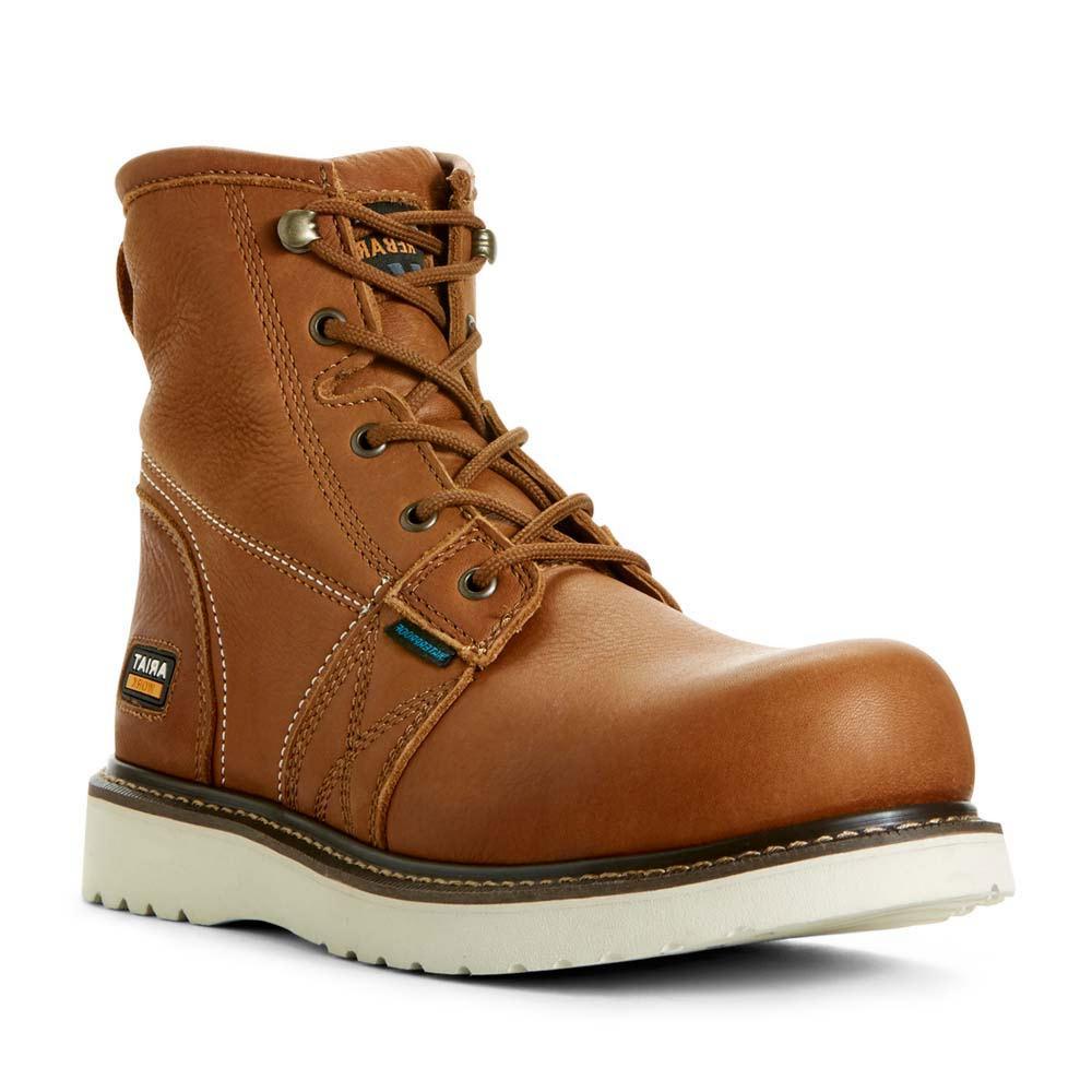 *Waterproof full-grain leather upper *6\\\