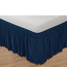 Pom-Pom Bed Skirt