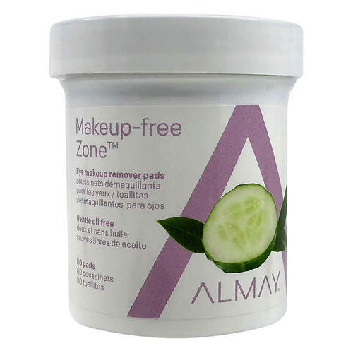 Almay Gentle Oil-Free Eye Makeup Remover Pads - 80 count