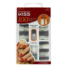 Kiss Full Cover Nails - Short Square