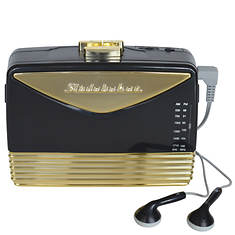 Studebaker Portable Cassette Player with Radio