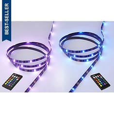 iLIVE 2-Pack LED Color-Changing Light Strips