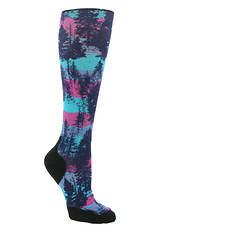 Smartwool Women's Perf Snow Targerted Cushion Print OTC Socks