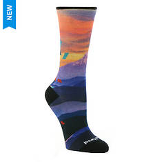 Smartwool Women's Curated Icy Izzy Crew Socks